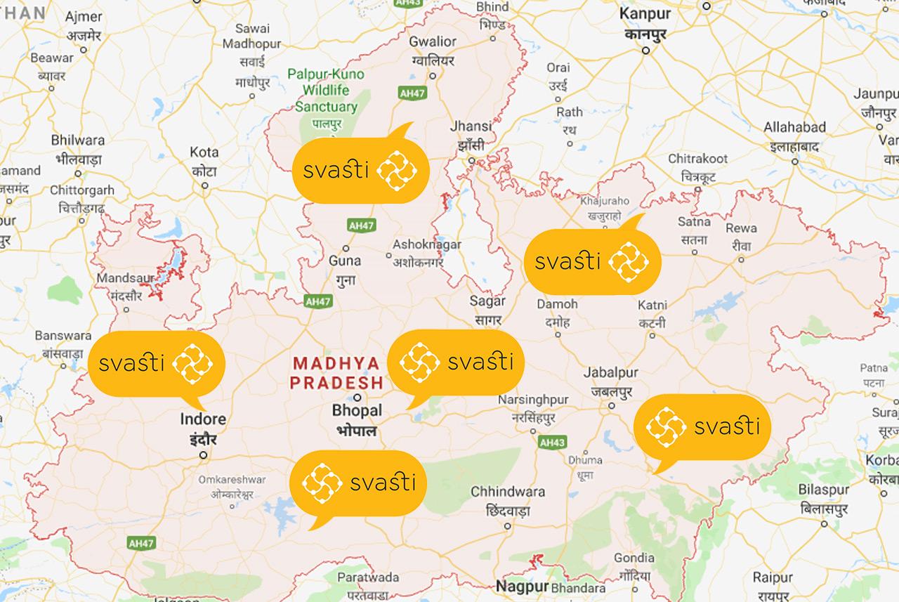 Svasti in Madhya Pradesh