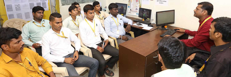 Team Svasti in a briefing