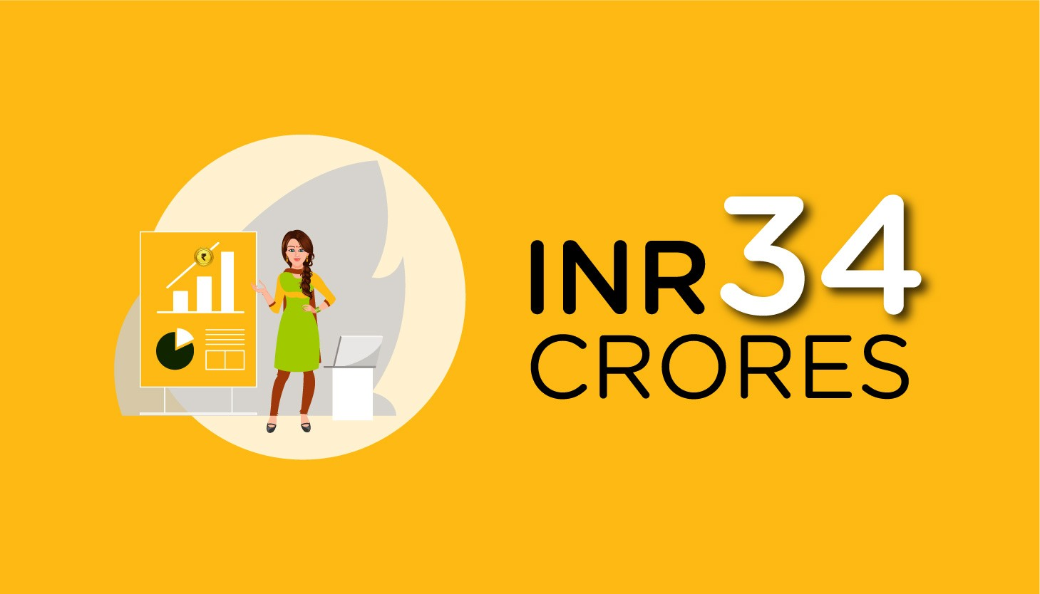 INR 34 Crores